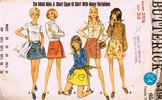 A short span of skirt! With many variations!