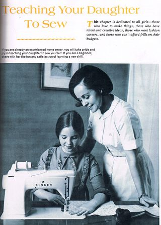 """From """"The Complete Book of Sewing,"""" 1972"""