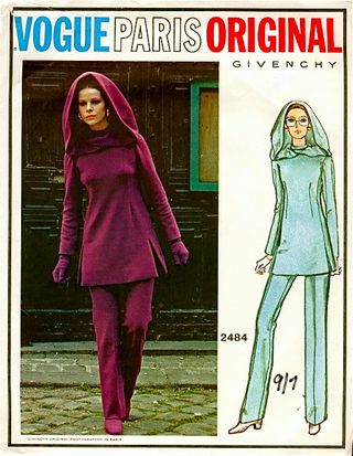 Vogue 2484 listing at the vintage pattern wiki
